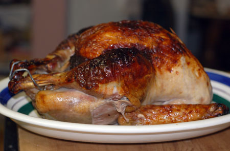 Cider-brined Turkey with Cider Sage Gravy