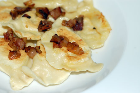 Potato-cheese pierogies