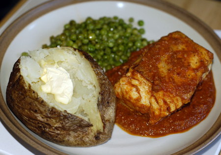 Halibut Romesco | The Persnickety Palate