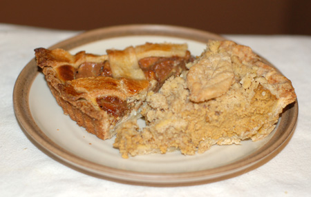 Caramel Apple Cheesecake Crostata | The Persnickety Palate
