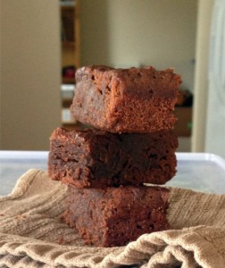 Magic Disappearing Brownies