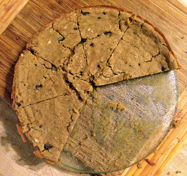 Cannellini cookie pie