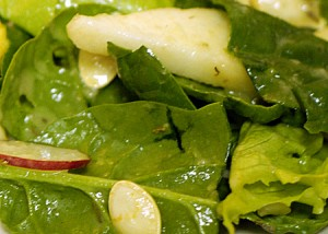 Green Salad with Pear Vinaigrette