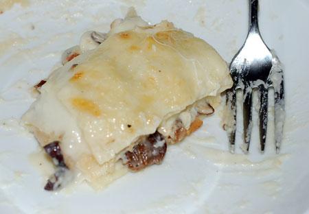 Prestigitation, or Roasted Mushroom Lasagne