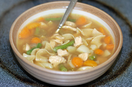 Chicken Soup for the <strike>Soul</strike> <strike>Cold</strike> Flu