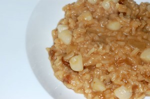 Bay Scallop Risotto