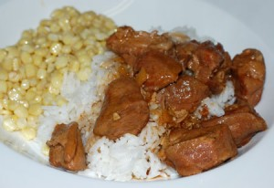 Hawaiian Braised Pork