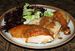 Five-Spice Roasted Chicken and Fixings