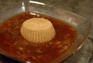 Waiter, There's a Flan in My Soup